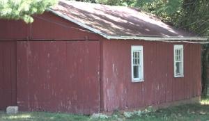 Dads old barn - where Santa would make an appearance each Christmas Season,