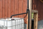 Creating a simple rain water collection system