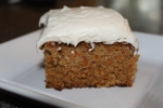 The Final Product - Moist and Delicious Carrot Cake!