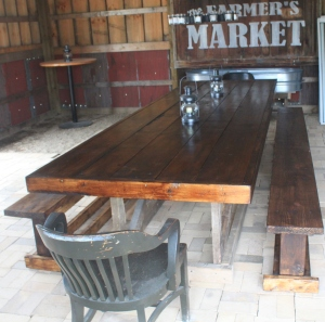 We will have to build a few more barn tables to seat everyone!