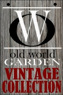 Our Old World Garden Vintage Logo we designed..what do you think?