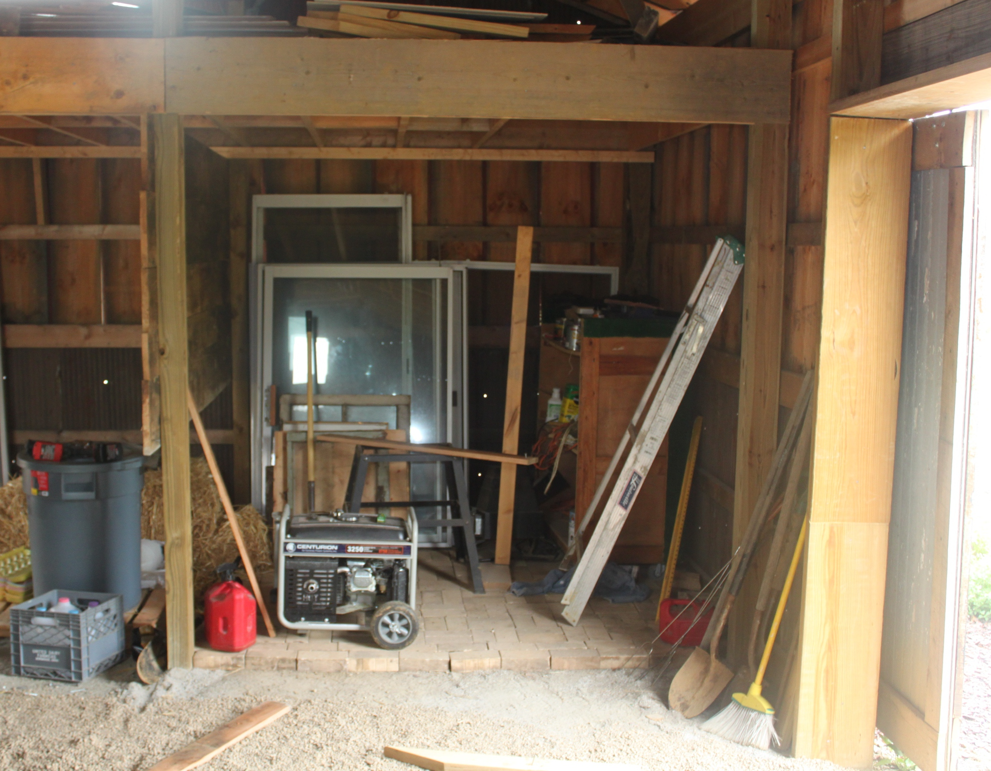More Barn Construction Fall Composting And The Farm Makes The News