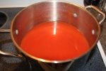 Tomato Juice - after put through the strainer