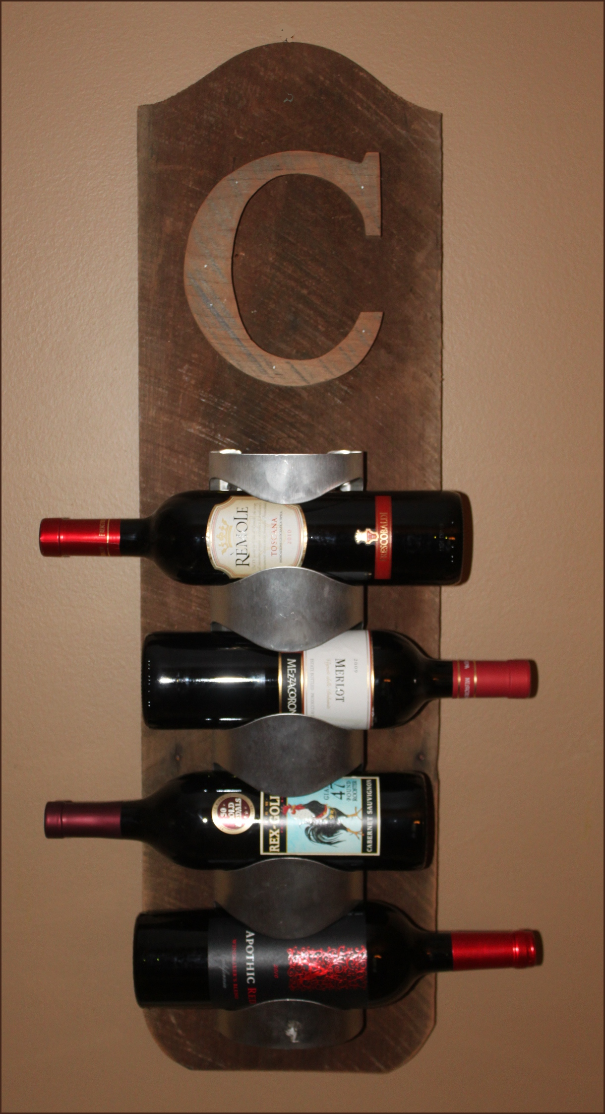 Make Wine Rack Cabinet Part 76