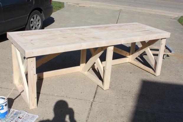 DIY Homemade Office Desk Plans Wooden PDF wood project ideas pinterest ...