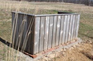 A compost bin is a must for any garden