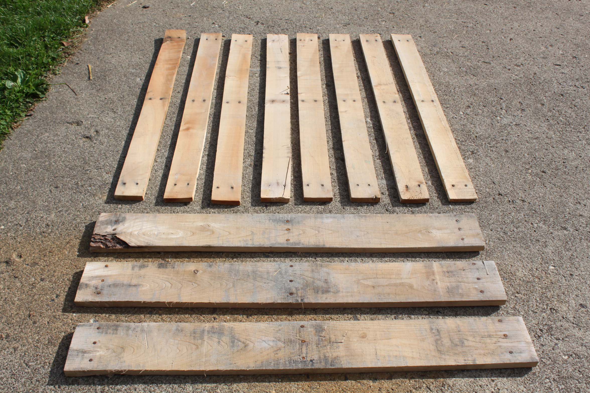 A Pallet Like The One Above Can Be Quickly Disassembled With Reciprocating Saw