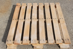 If you can, find 3 similar pallets to help make the project go smooth