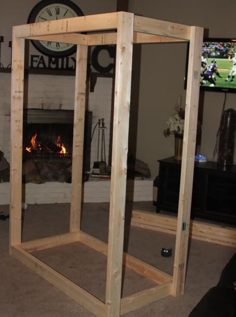 wooden squat rack plans