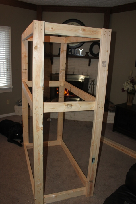 Build 2 4 Basement Shelf Plans Diy Workbench Plans Youtube