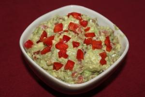 Guacamole Make-Over: Cajun Red Pepper Guacamole