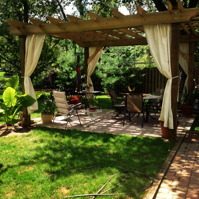 outdoor pergola diy