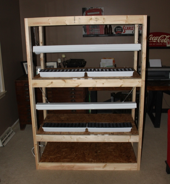 greenhouse shelf plans