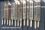 How To Make Garden Signs From Pallets Or Barn Wood