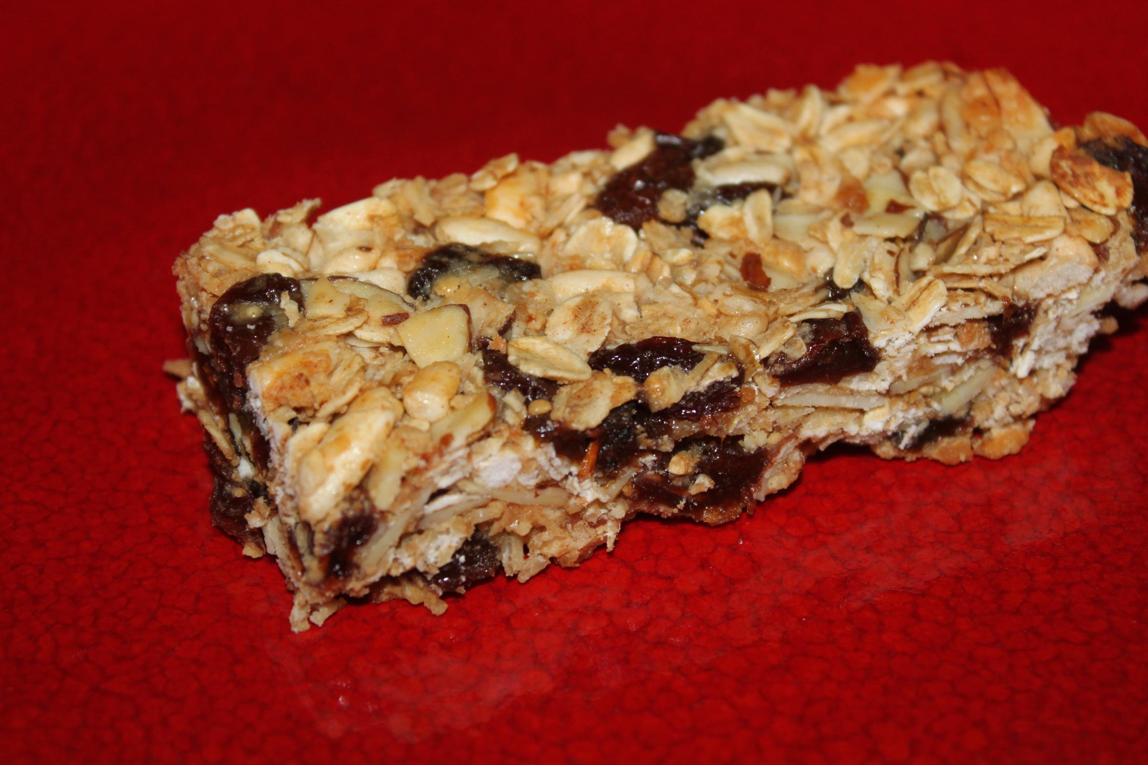 Homemade Granola Bar Recipe – Ohhhh So Good!
