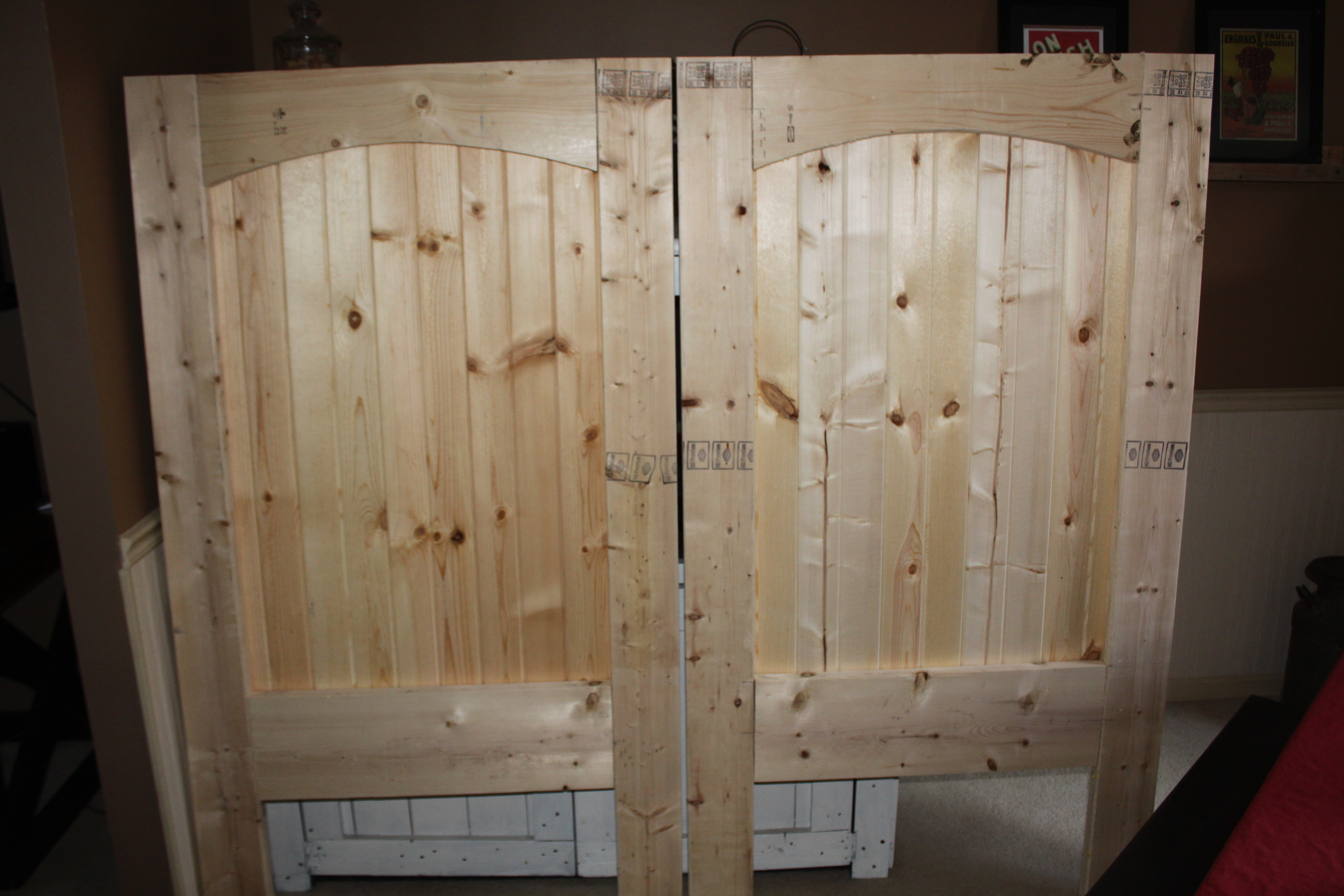 How To Build A Rustic Barn Door Headboard Old World