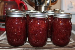 Strawberry Honey Jam - just 4 natural ingredients including of course, honey!