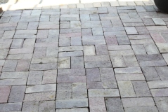 We will use reclaimed brick for the 6' wide main walkway, adding beauty, color and texture to the landscape