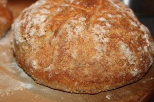 Home made artisan bread