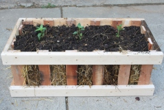 The Straw Bale Pallet Crate Garden – Simple, Attractive – And Cheap