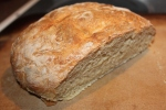 Fresh cut home made artisan bread