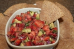 Strawberry Salsa - The perfect sweet heat recipe for spring!