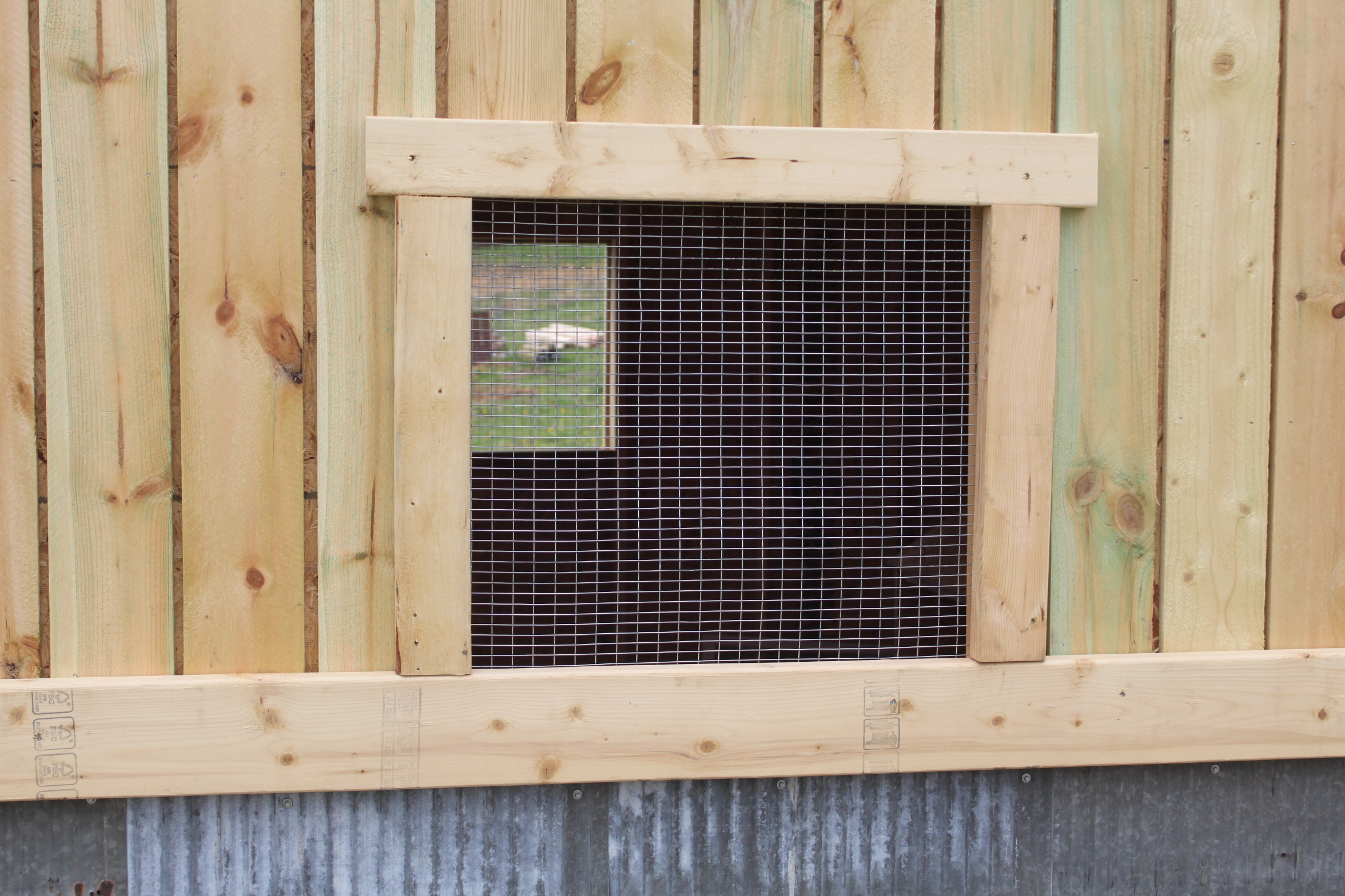 Preparing The Chicken Coop And Garden For Winter Old