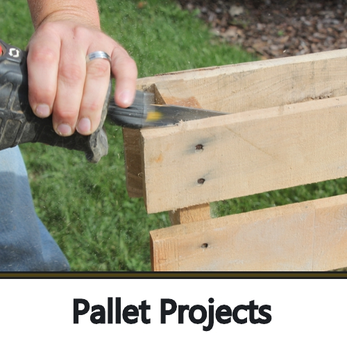 wooden garden projects