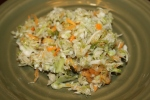 Quick and easy coleslaw recipe