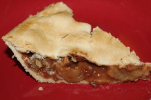 The perfect pie crust - light and flaky and super easy to make!
