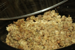 Classic stuffing recipe - just as my parents made it!