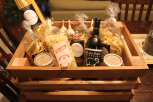 The crates also double as great gift baskets!
