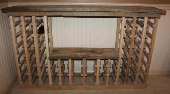 how to build wine racks wood