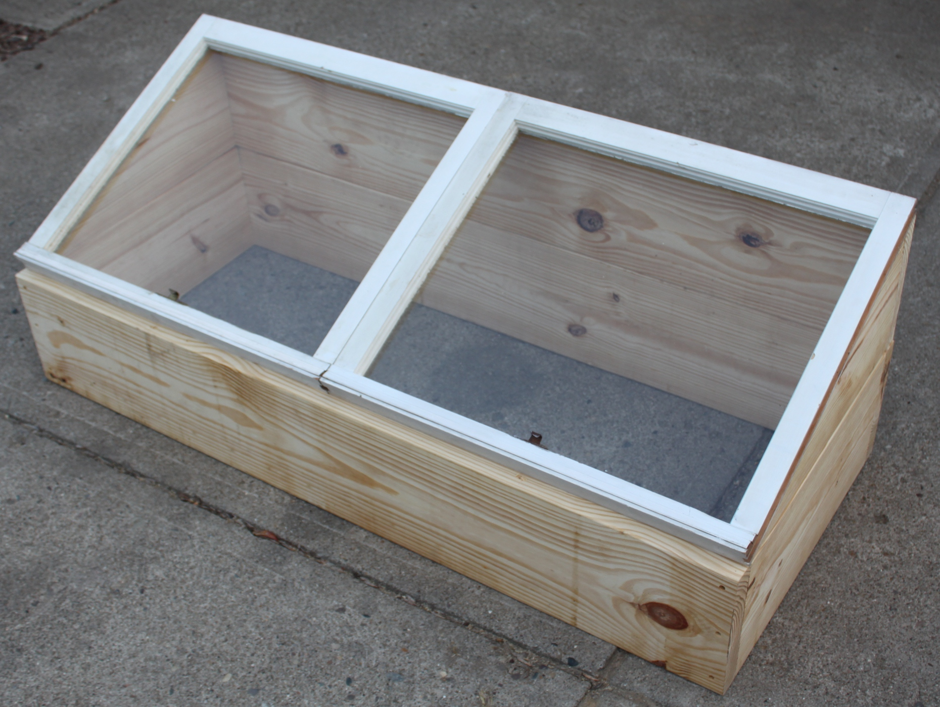 How to build your own diy cold frame grow veggies year for How to make vintage frames