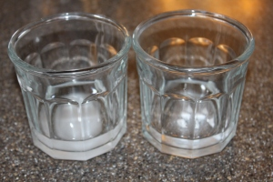 Dissolving citric acid and rennet tablets - just don't get confused on which one is which.
