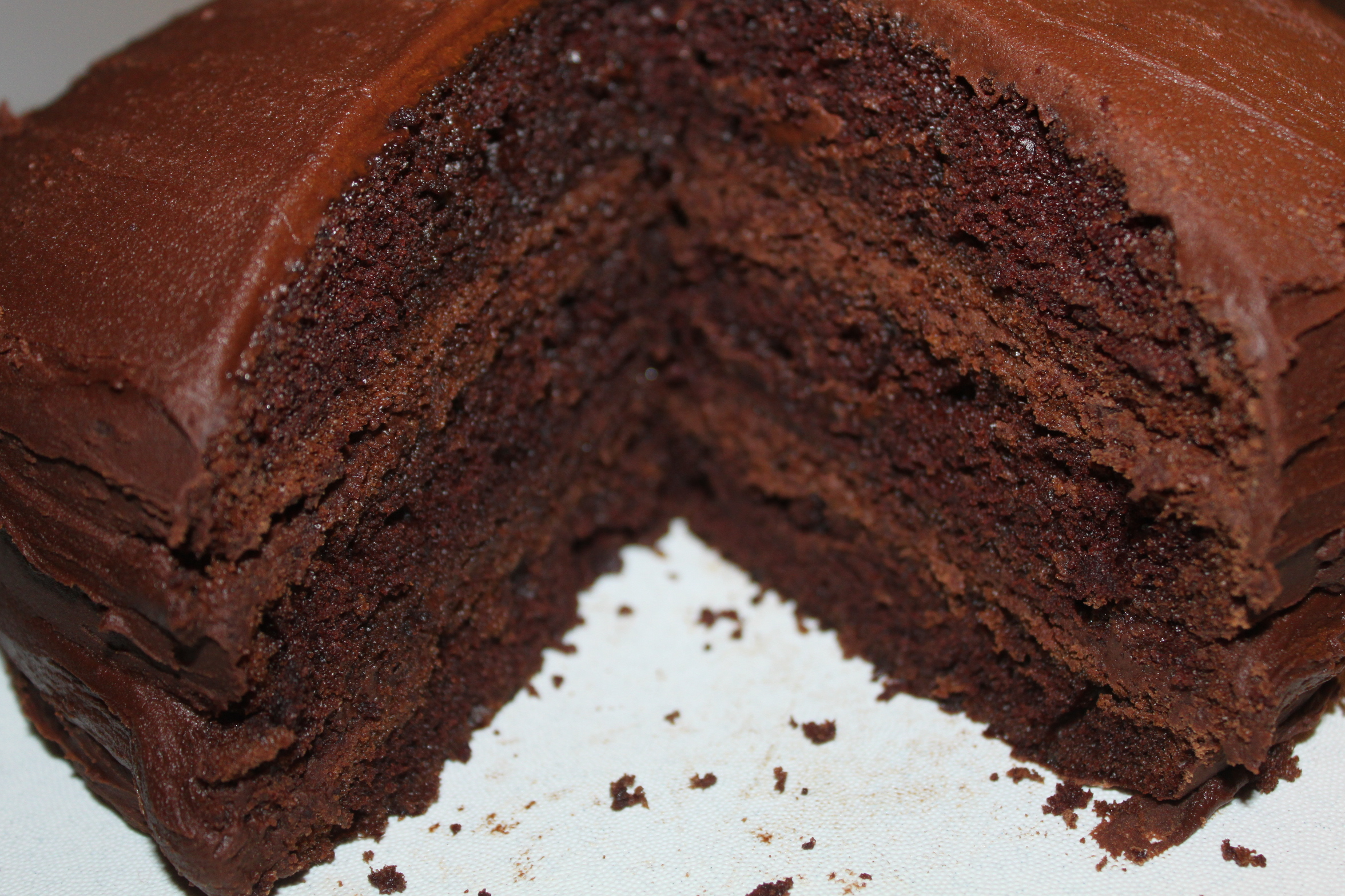 Homemade Moist Chocolate Cake