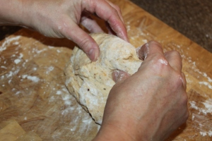 Knead the dough and let the dough rest. Don't skip this step - it makes a huge difference in the end result.