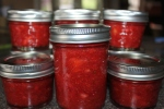 Strawberry Freezer Jam = no cooking required