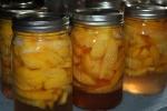 Peach Preserve Canning Recipe
