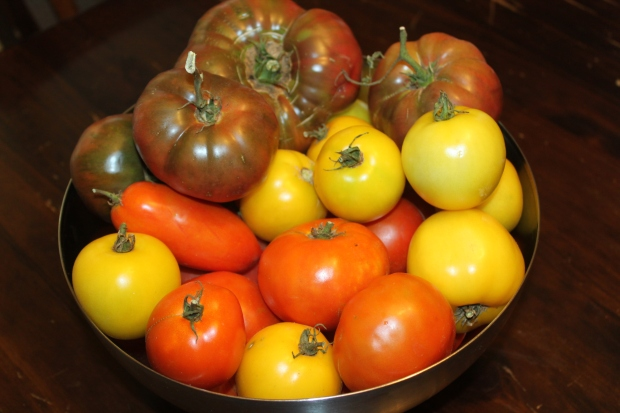 Home Grown Heirloom Tomatoes