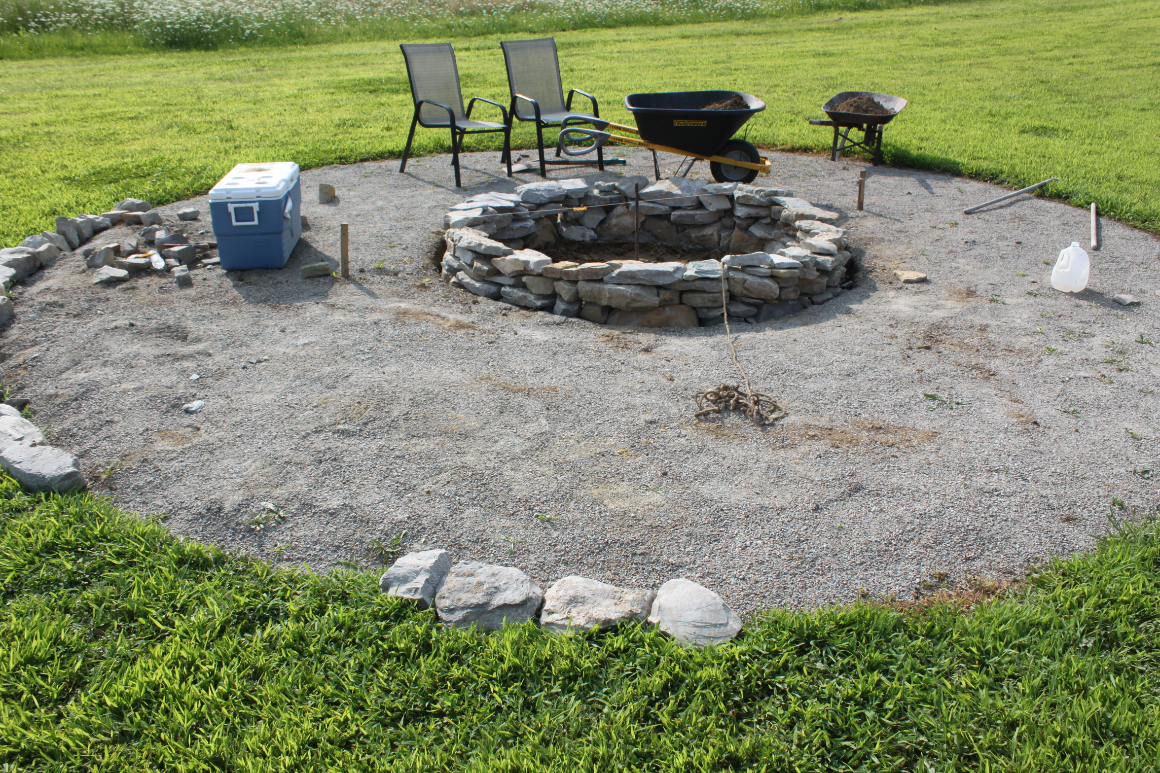 build pit limestone the completed pit project how we built it for
