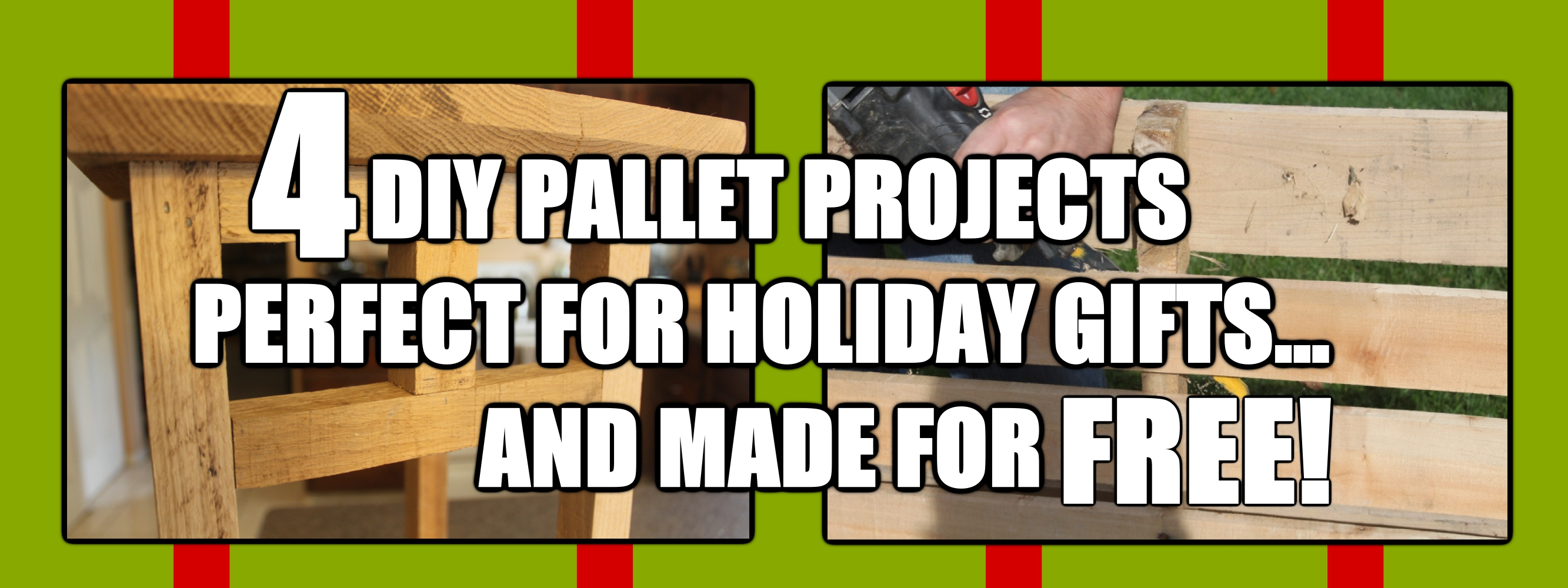 Diy holiday gifts you can make free from pallets old