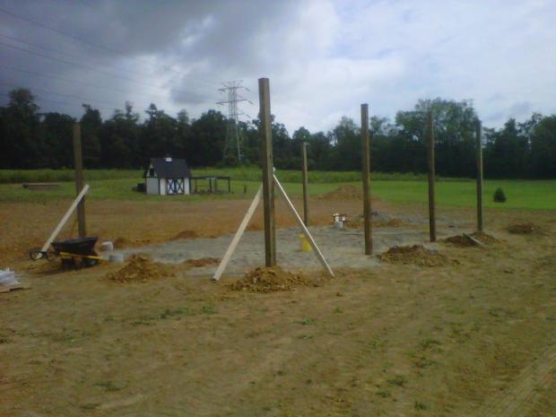 pole beams 1