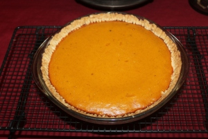 The perfect pumpkin pie is easy to make and has no cracks!