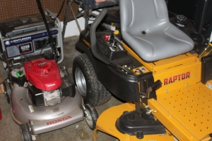 Cleaning and prepping your power equipment for winter storage is a must for long term durability
