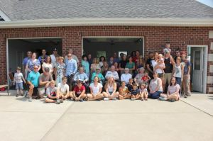"The ""family"" at a reunion this past summer - a little bigger every year!"