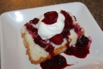 Angel Food Cake Recipe - made for a loaf pan