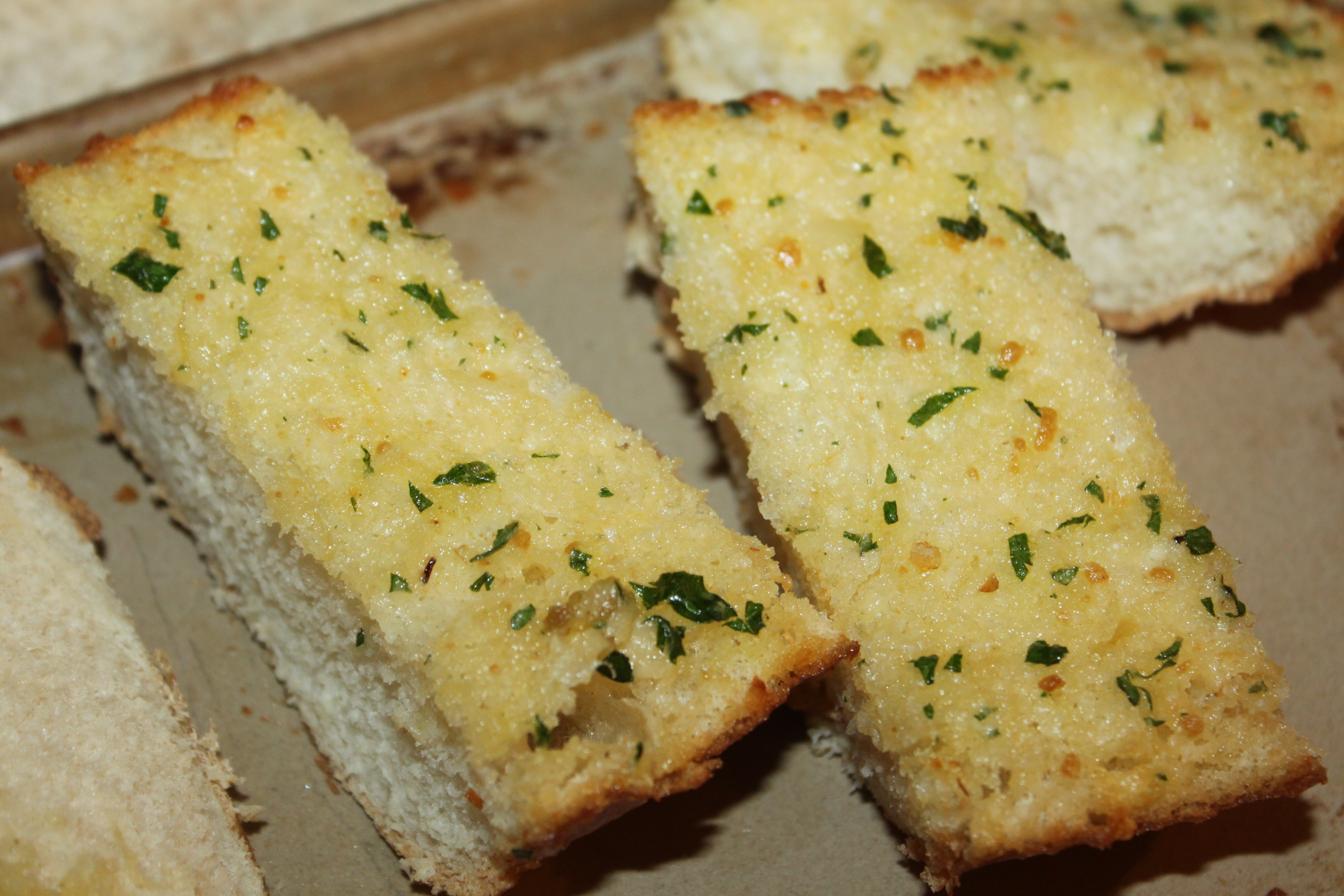 Homemade Garlic Bread Recipe - Delicious! - Old World Garden Farms