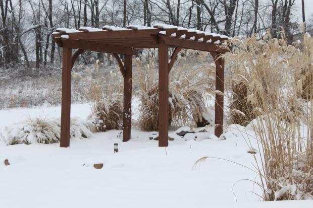 Upper Snow Pergola