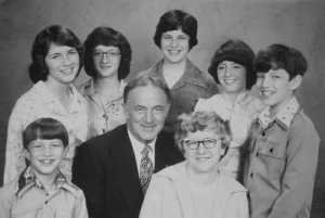 MY family - you have to love the late 70's outfits!